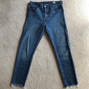 Levi's White Oak Cone Denim High Rise Jeans 28